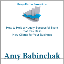How to Hold a Hugely Successful Event – Babinchak