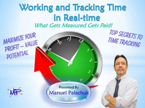 Working and Tracking Time in Real-time Training