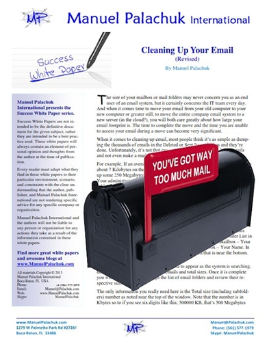 Cleaning Up Your Email