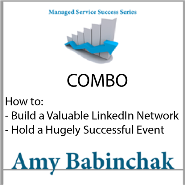 Amy Babinchak's Event + Networking Whitepaper Combo
