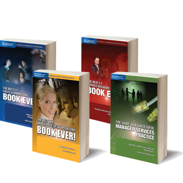 "The ""Erick Simpson 4-Book Bundle"""