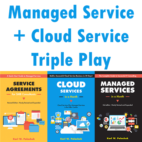 Managed Services + Cloud Services + Service Agreements – Triple Play